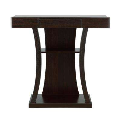 Alethea Cappuccino Console Table