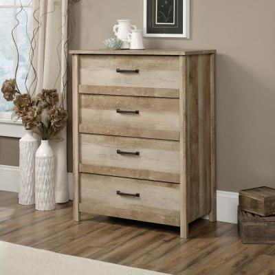 Cannery Bridge 4-Drawer Lintel Oak Chest of Drawers
