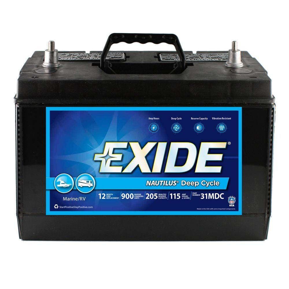 31 Deep Cycle Marine Battery