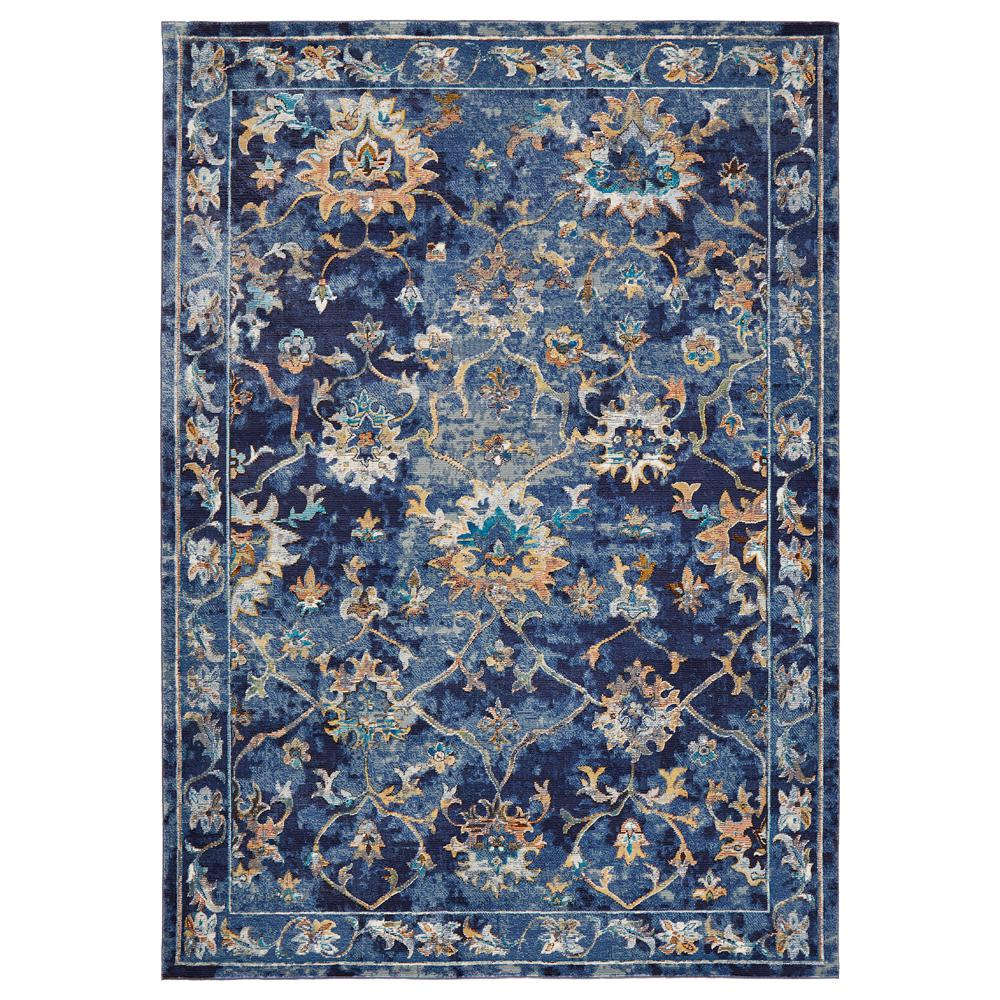 Gala Indigo Multi 9 ft. x 12 ft. Indoor Area Rug