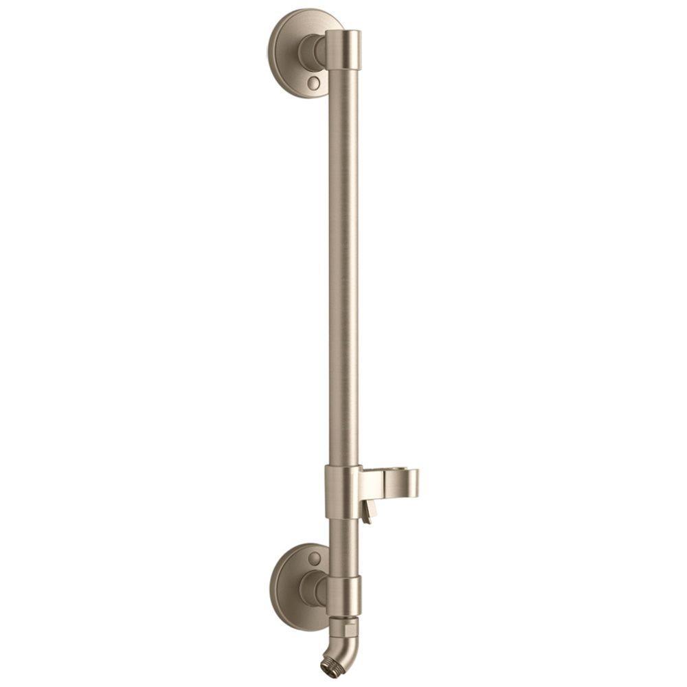 KOHLER HydroRail-H Shower Column, Vibrant Brushed Bronze