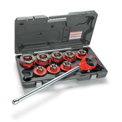 1/8 in. to 2 in. NPT 12-R Exposed Ratchet Threader Set