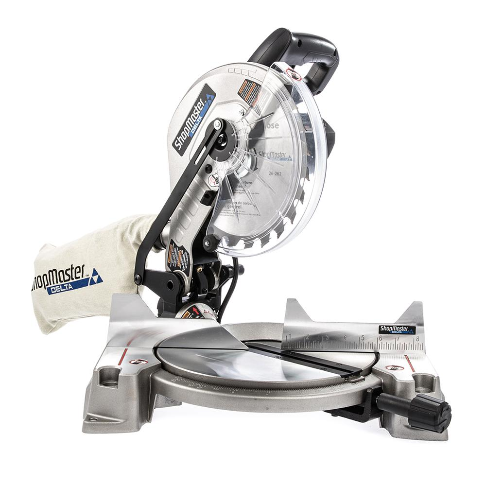 Shopmaster 15 Amp 10 in. Compound Miter Saw with Laser
