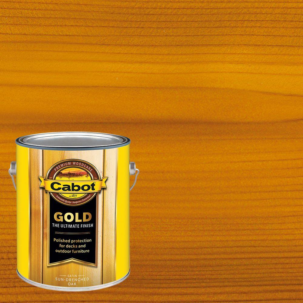 1 gal. Sun-Drenched Oak Gold Oil Exterior Deck Varnish