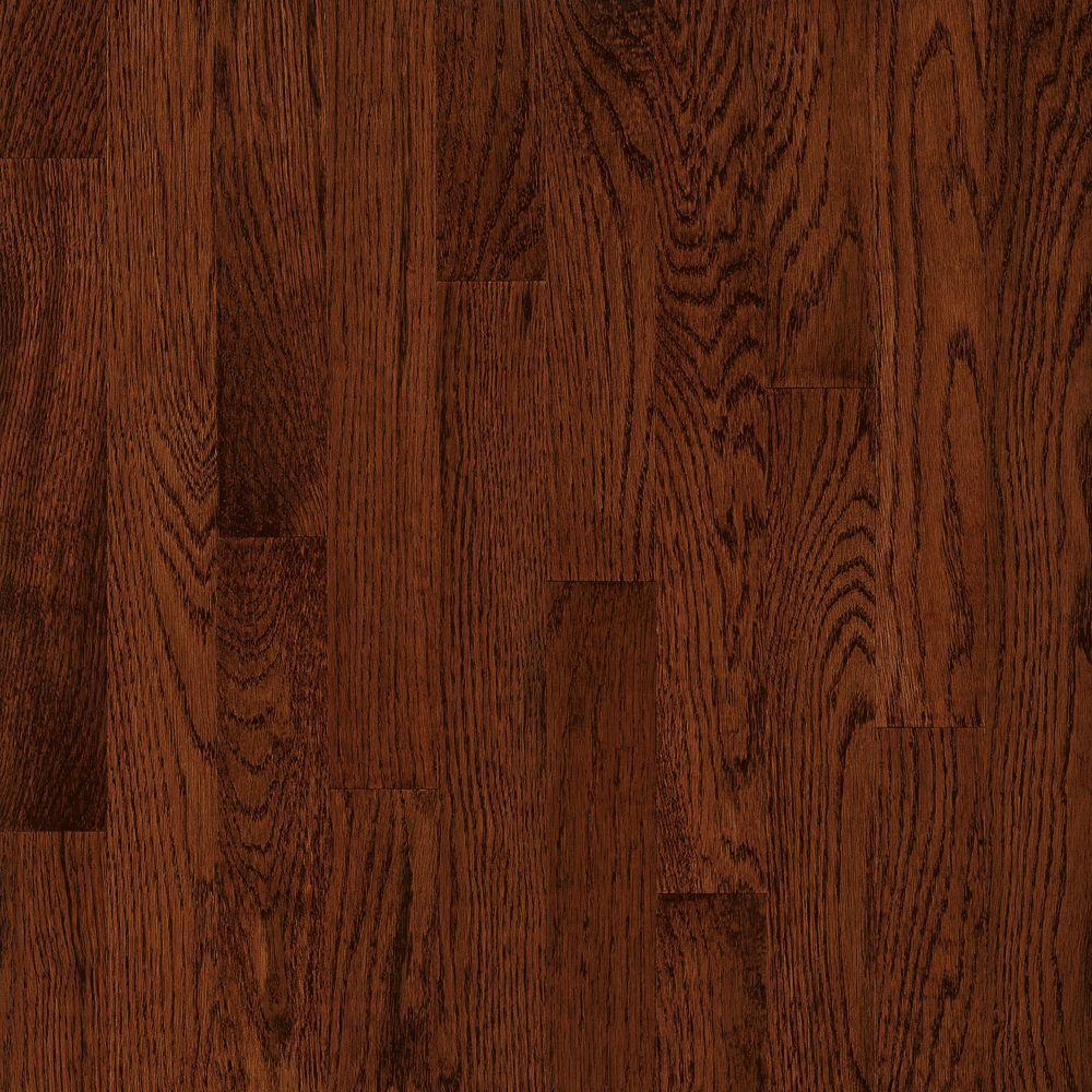 American Originals Deep Russet Oak 3/4 in. T x 2-1/4 in. W x Varying L Solid Hardwood Flooring (20 sq. ft. /case)