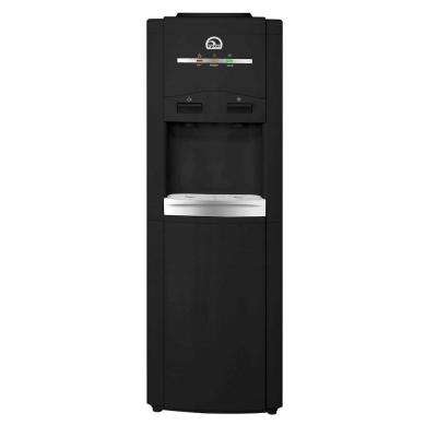 Top Load Hot and Cold Water Dispenser in Black