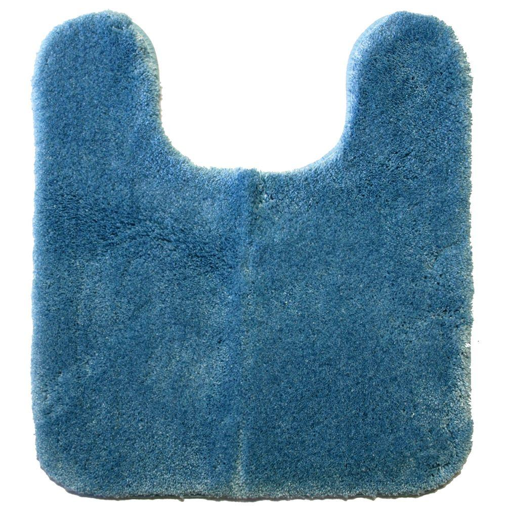 Mohawk Home Regency Slate Blue 20 in. x 24 in. Contour Bath Rug-DISCONTINUED