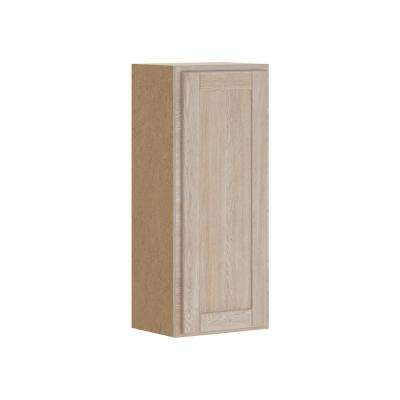 Stratford Assembled 15x36x12 in. Wall Cabinet in Unfinished Oak
