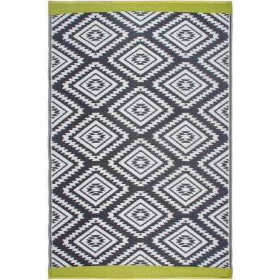 Valencia Indoor/Outdoor Gray 8 ft. x 10 ft. Area Rug