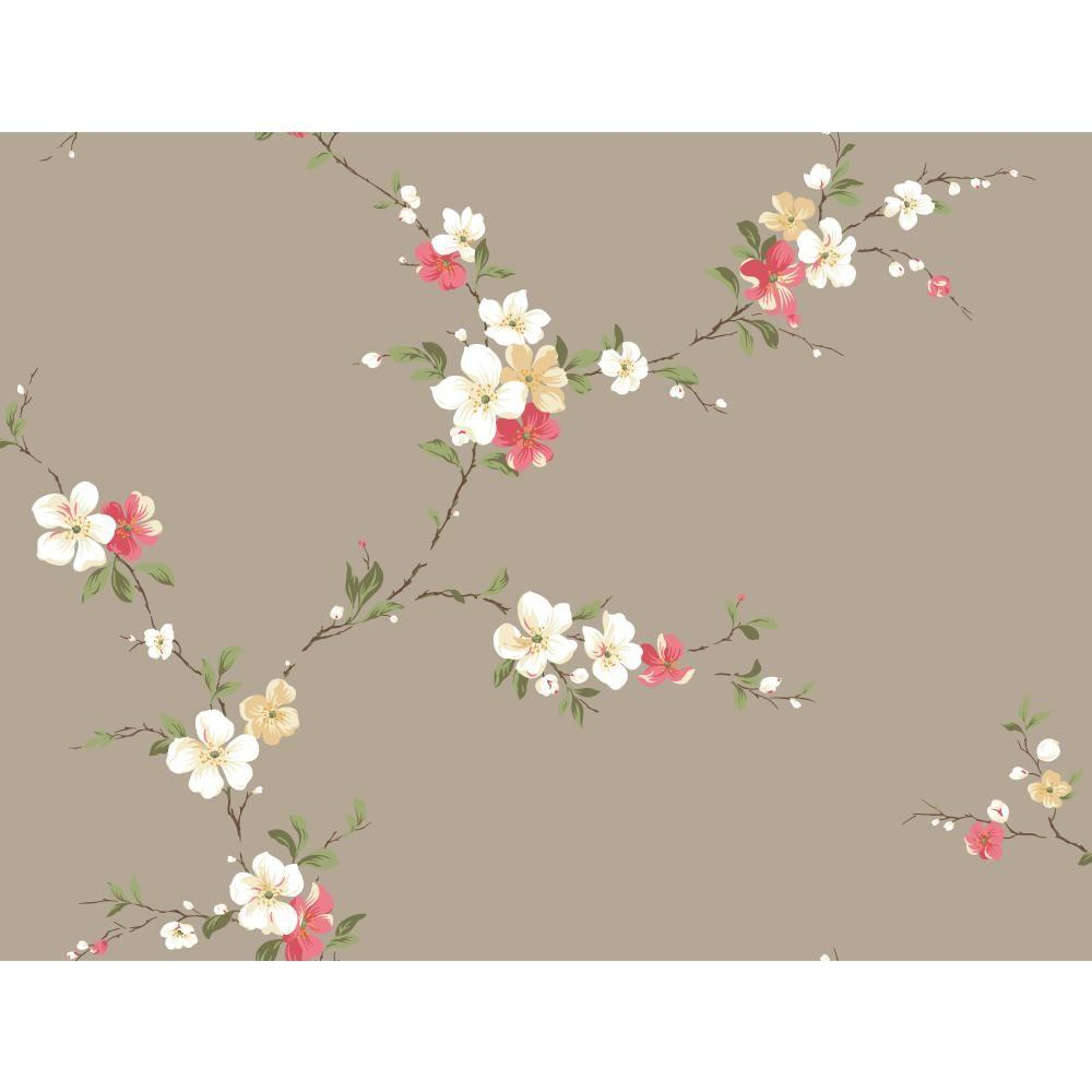 York Wallcoverings Blossom Trail Wallpaper