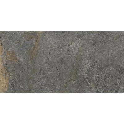 Milestone Gray Matte 23.62 in. x 47.24 in. Porcelain Floor and Wall Tile (15.5 sq. ft. / case)