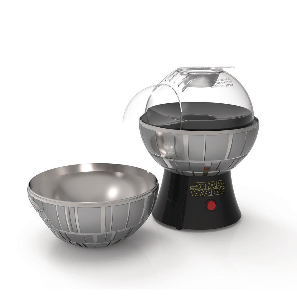 Star Wars Death Star 3 oz. Grey Countertop Popcorn Machine