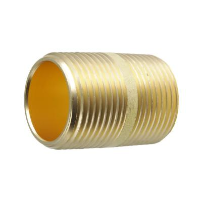 3/4 in. x 1-1/2 in. MIP Brass Nipple Fitting