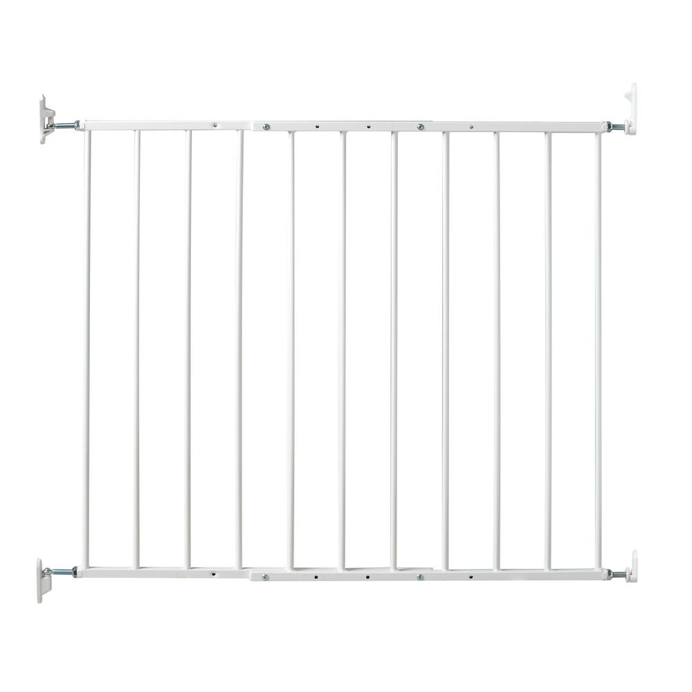 Advanta 25 In H Stairway Gate Ad200 The Home Depot