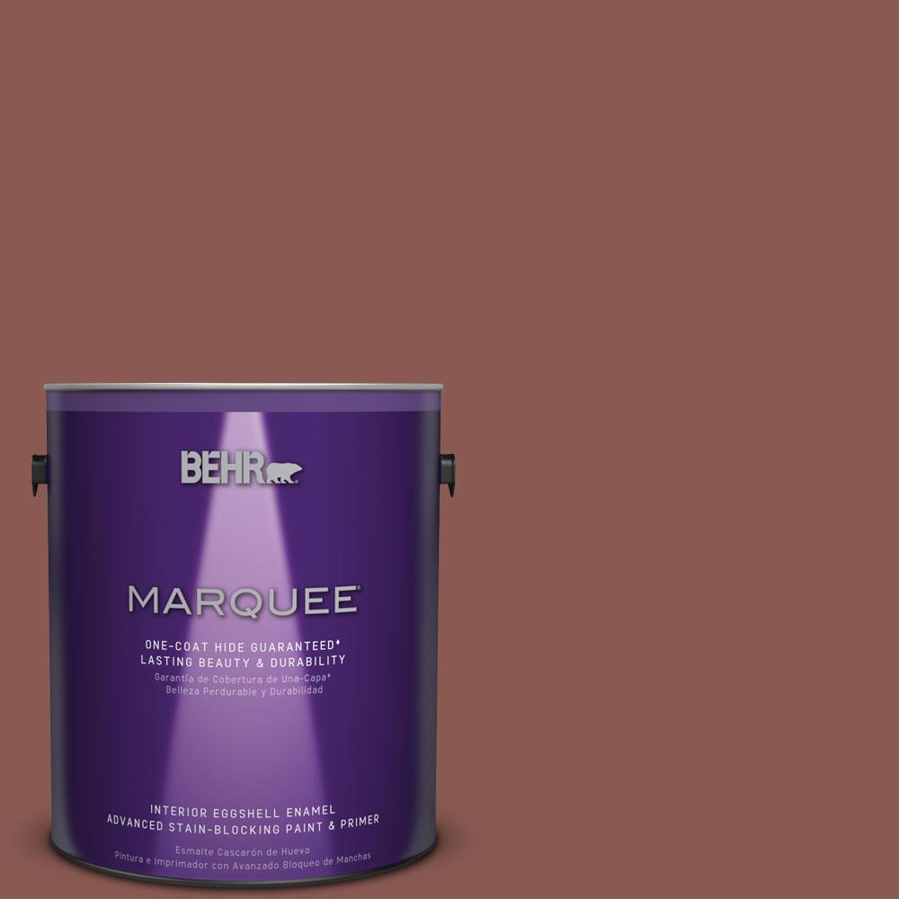 #MQ1 20 Rust One Coat Hide Eggshell Enamel Interior Paint