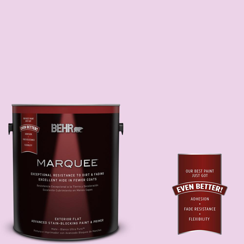 1-gal. #670A-2 Champagne Elegance Flat Exterior Paint