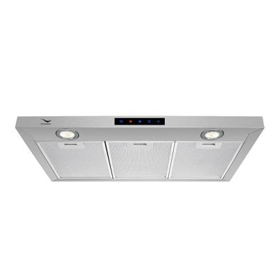 36 in. 480 CFM Convertible Under Cabinet Range Hood in Stainless Steel with Mesh Filter, Touch Control, LED Lights