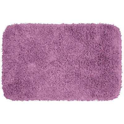 Jazz Purple 24 in. x 40 in. Washable Bathroom Accent Rug