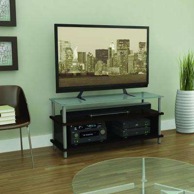 Universal Adjustable Heavy Duty Table Top TV Stand / Base Mount up to 70 in. in Black