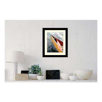 16 in. W x 19 in. H 'In the Breeze I' by Tandi Venter Printed Framed Wall Art