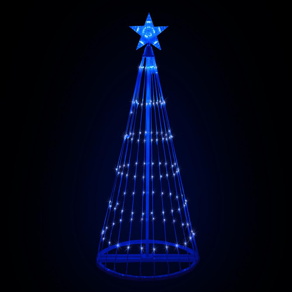 Christmas Blue Led Animated Lightshow