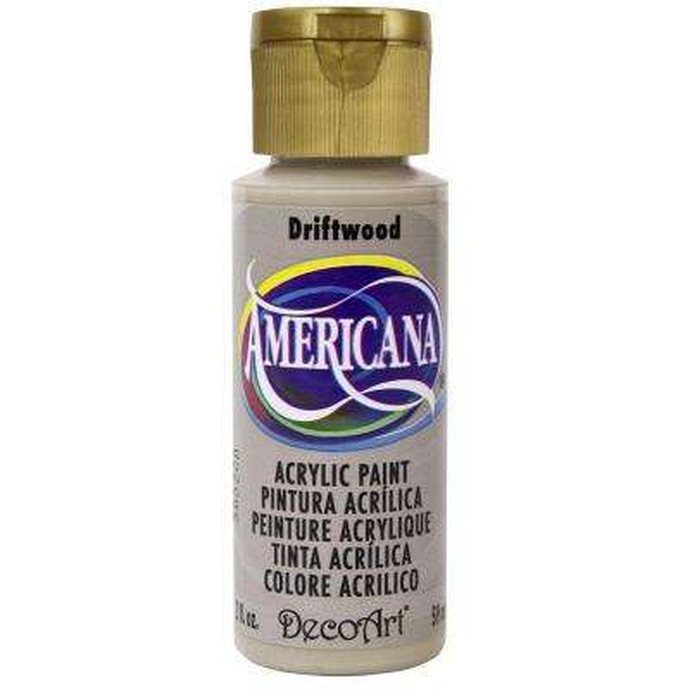 Americana 2 oz. Driftwood Acrylic Paint