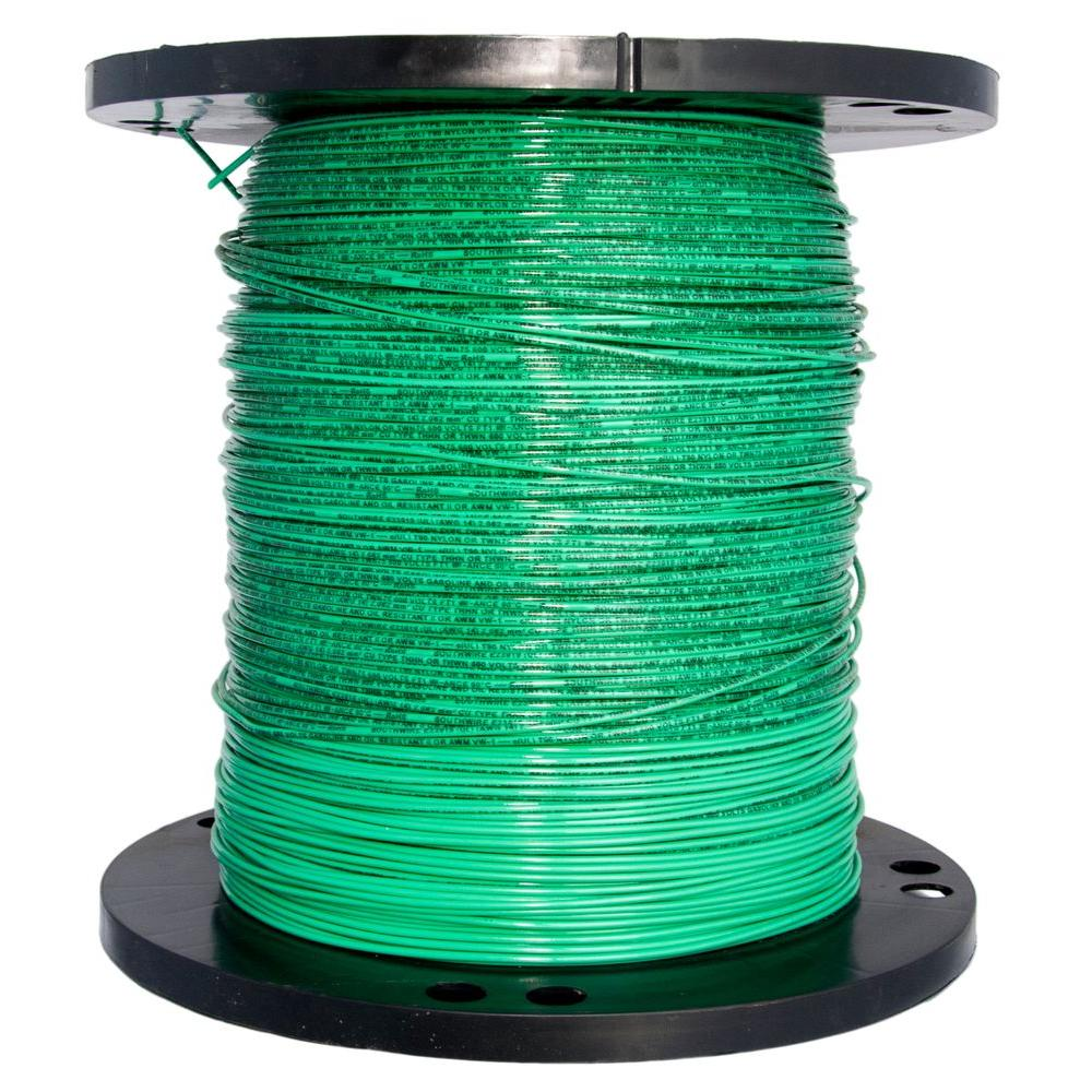 Southwire 2500 ft. 14 Pink Solid CU THHN Wire-25533105 - The Home Depot