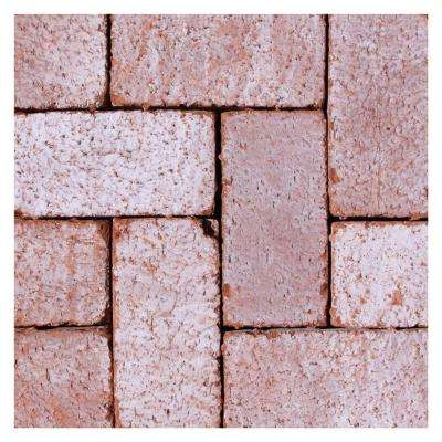 Mission Split 8 in. x 4 in. x 1.63 in. Tumbled Clay Cabrillo Paver