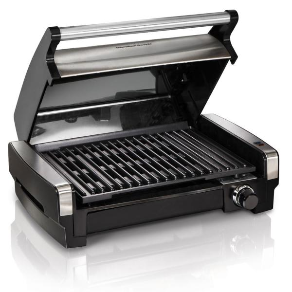Searing Grill 118 in. Stainless Steel Indoor Grill with Non-Stick Plates