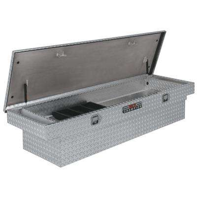 Champion 70 in. Aluminum Single Lid Full Size Crossover Tool Box with Gear Lock in Bright