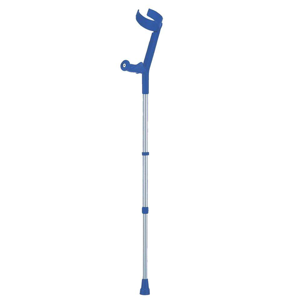 null Hinged, Nearly-Closed Cuff with Anatomic Soft Handle Forearm Crutch-DISCONTINUED
