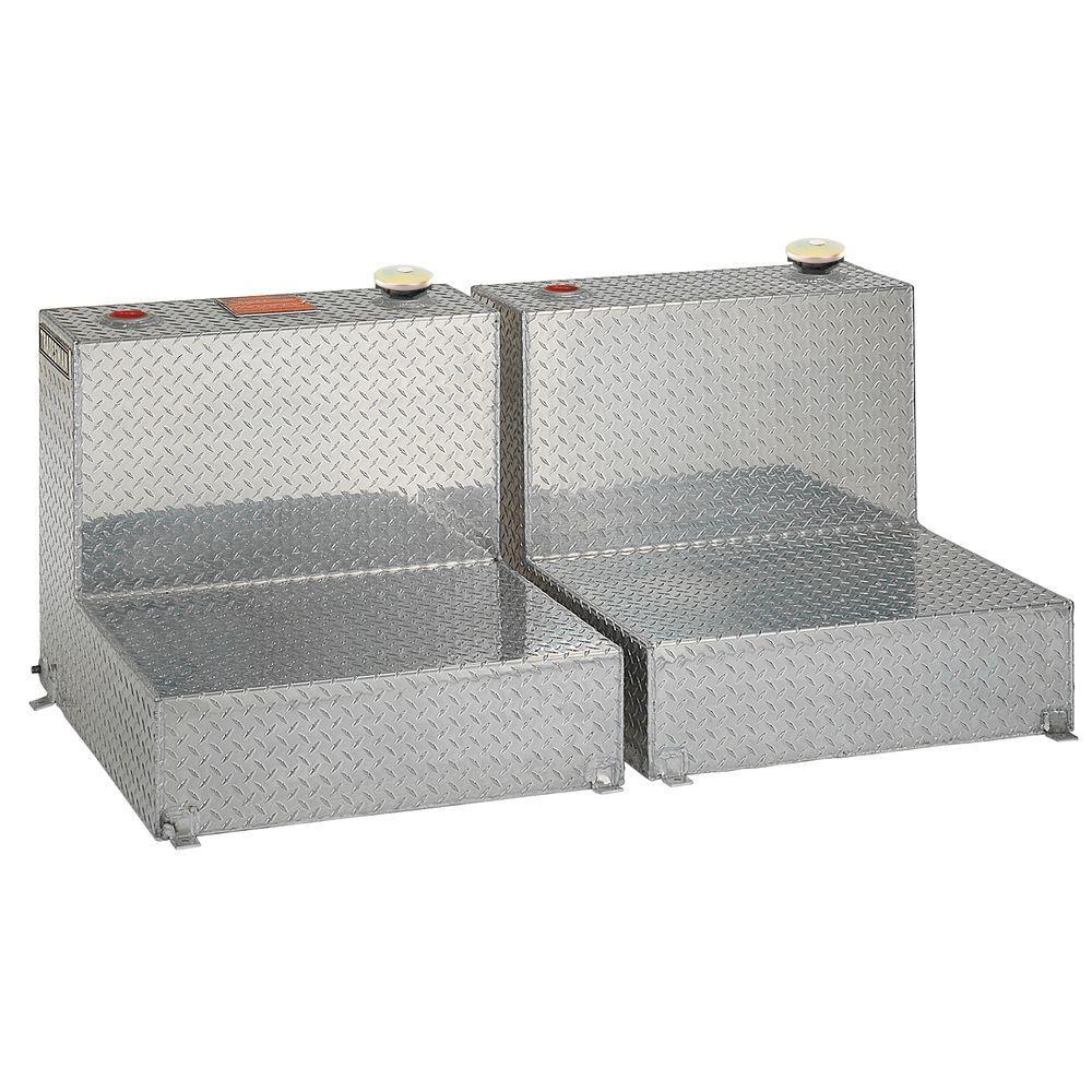 Lund 96 Gal. Dual Aluminum L-Shaped Truck Tank