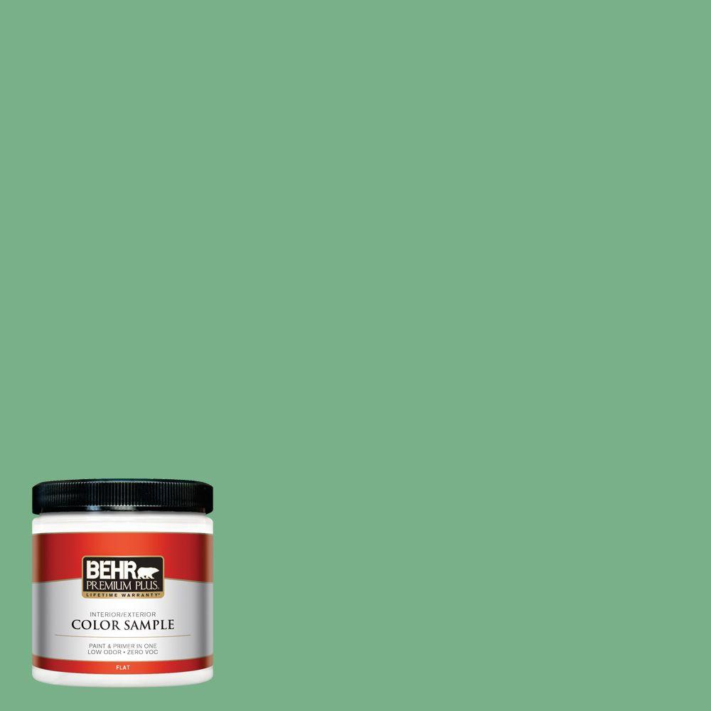 8 oz. #M410-5 Green Bank Interior/Exterior Paint Sample