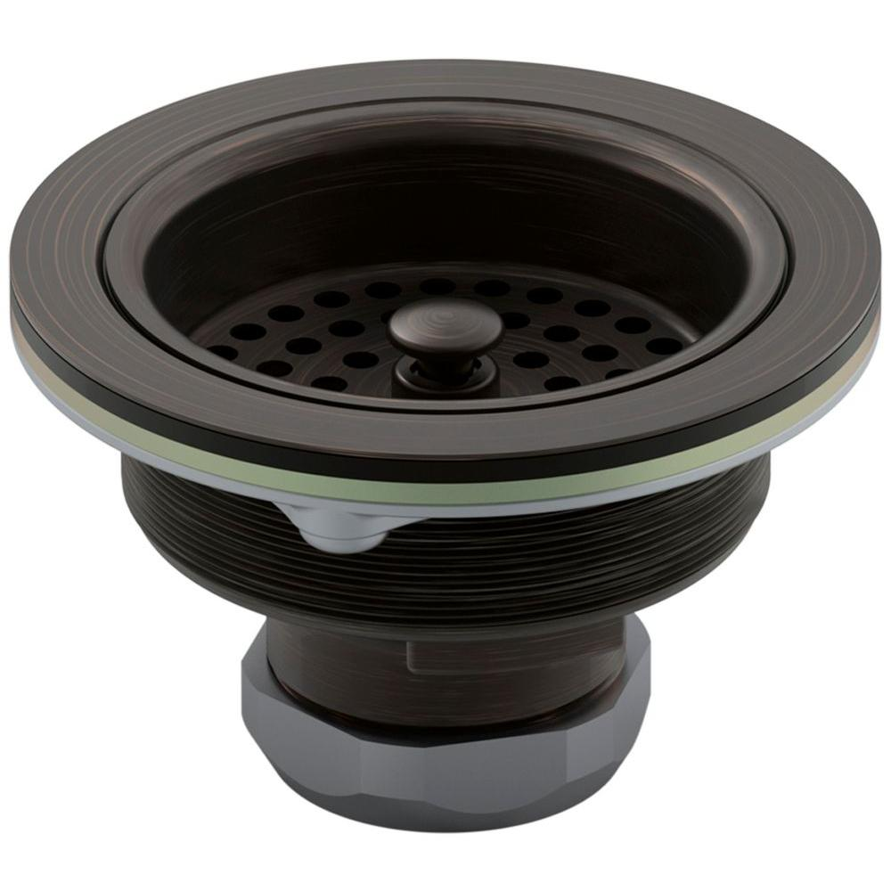 Beau Sink Strainer In Oil Rubbed Bronze