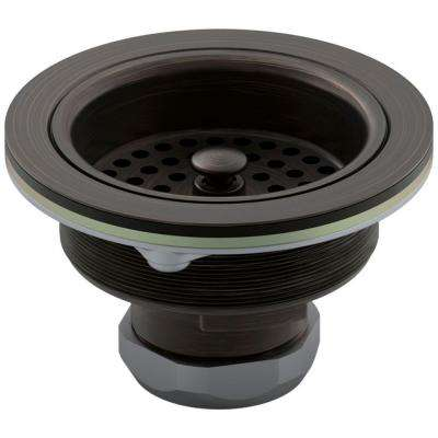 Duostrainer 4-1/2 in. Sink Strainer in Oil-Rubbed Bronze