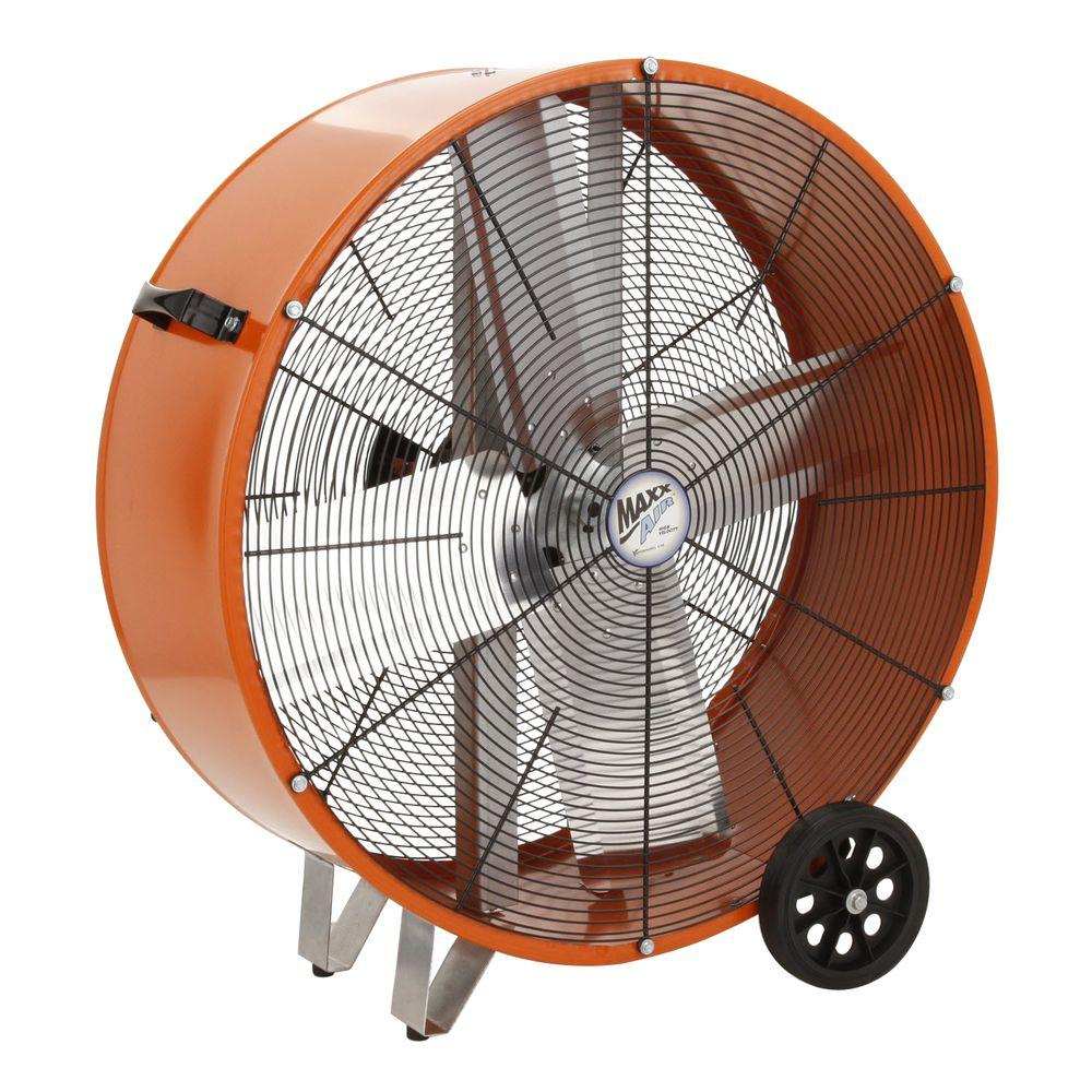 Ventamatic 30 in. 2 Speed Direct Drive Barrel or Drum Fan-DISCONTINUED
