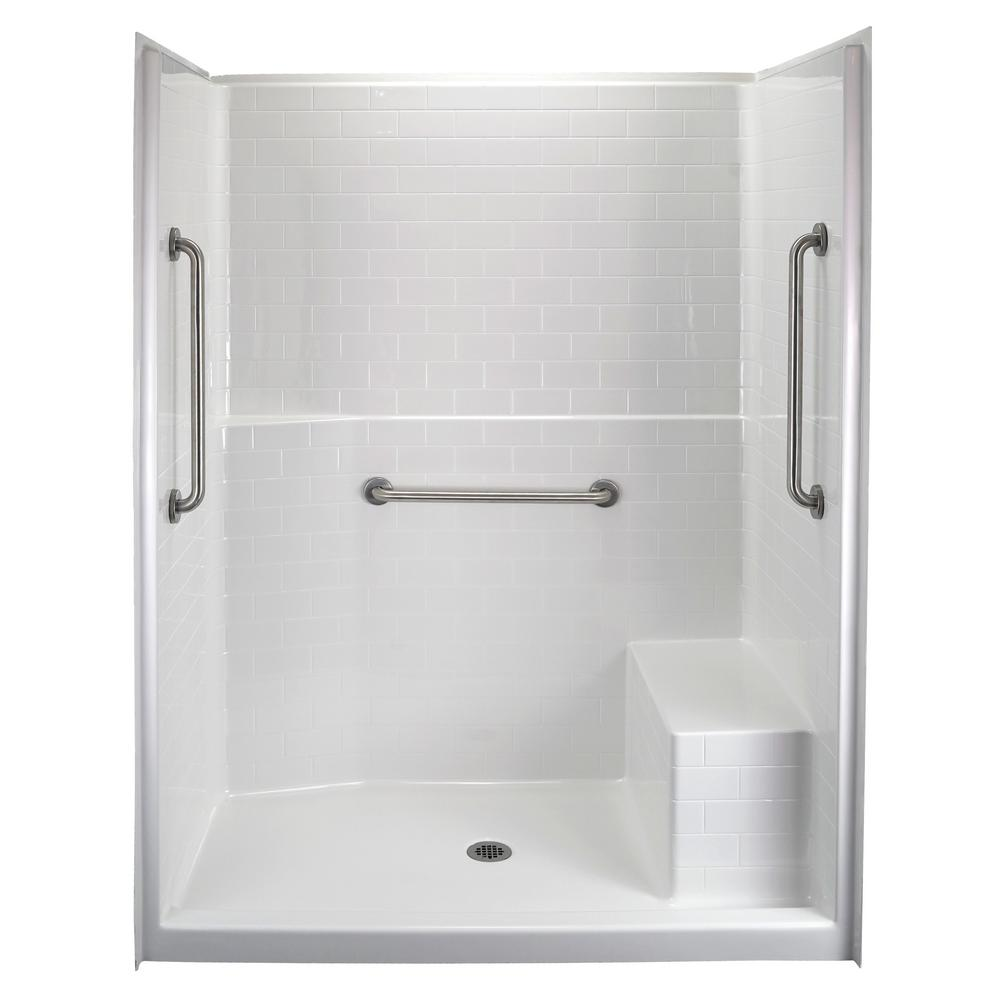 Tile Shower Stall Product Image