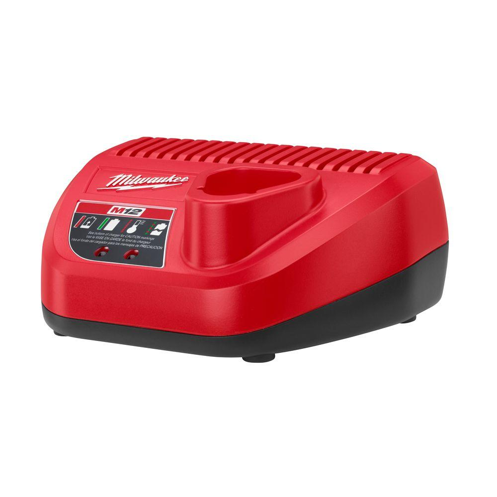 Milwaukee M12 12-Volt Lithium-Ion Battery Charger