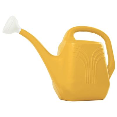 Classic 2 Gal. Earthy Yellow Plastic Watering Can