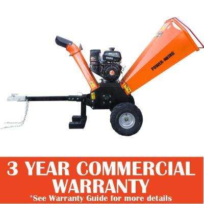 5 in. 14 HP Gas Powered Chipper Shredder with Kohler Command Pro Engine, Removable Tow Hitch Bar and ATV Tires