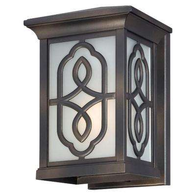 Willowby Bronze Outdoor Wall Lantern Sconce