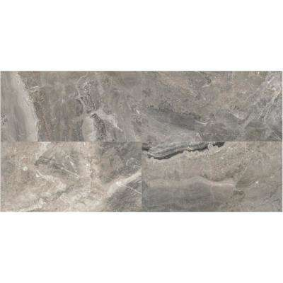 Marble View Marble Storm Matte 24 in. x 48 in. Color Body Porcelain Floor and Wall Tile (15.26 sq. ft. / case)
