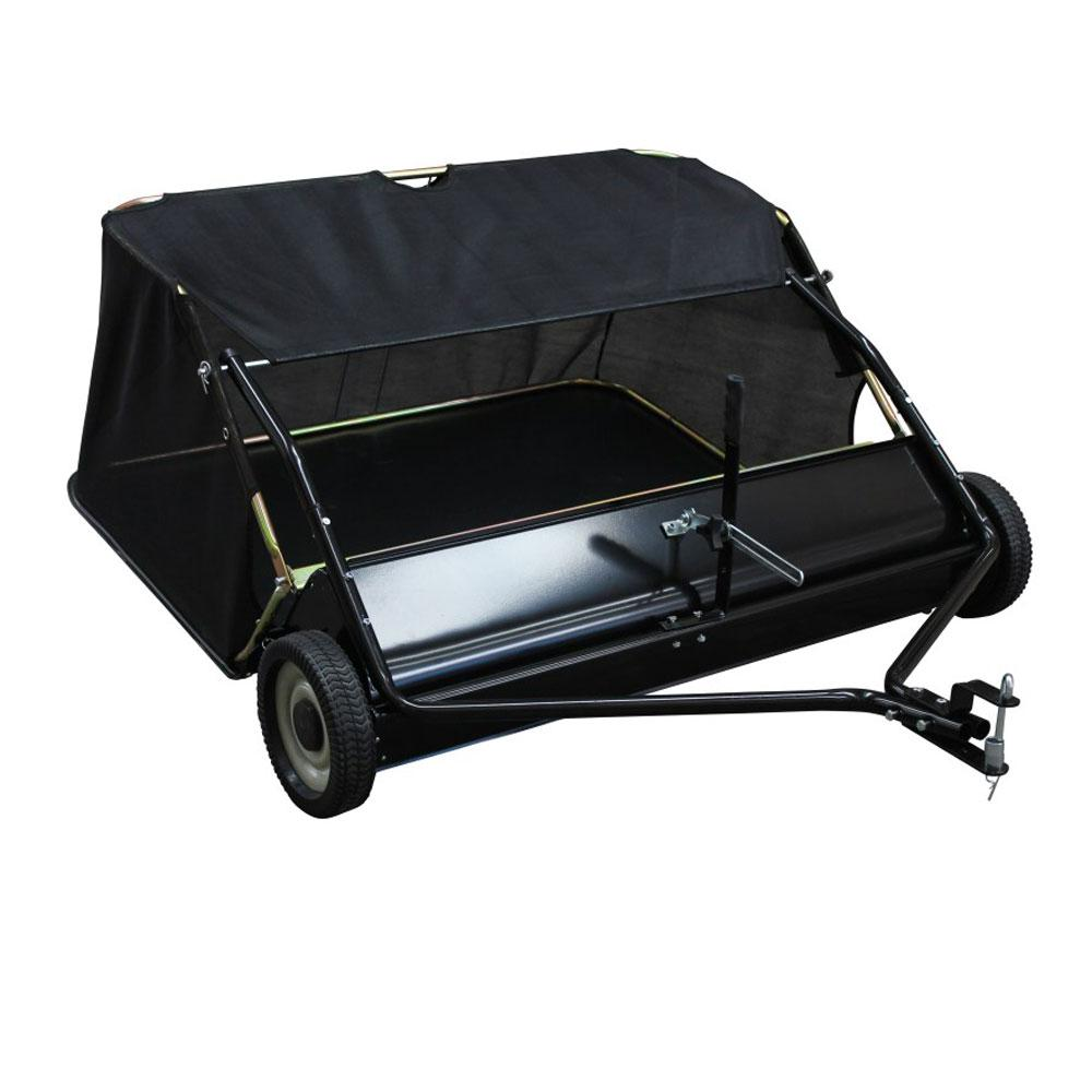 Yard Commander 48 inch Tow Behind Lawn Sweeper w/ 4 ft. Clearing Width