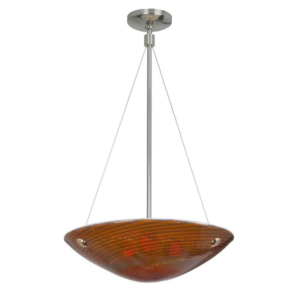 Filament Design Cypress 1-Light Bronze Chandelier