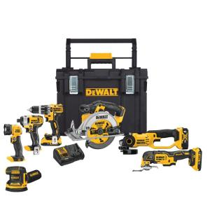 Deals on DeWalt 20-Vol MAX Lithium-Ion Cordless Combo Kit 7-Tool