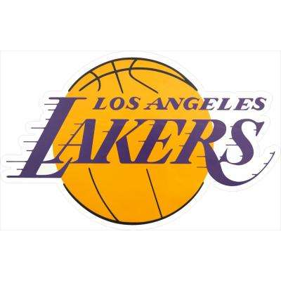 NBA Los Angeles Lakers Outdoor Logo Graphic- Small