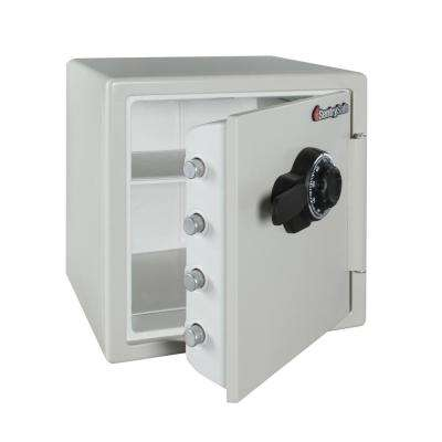 1.2 cu. ft. Steel Fire-Resistant Safe with Combination Dial Lock, Gray
