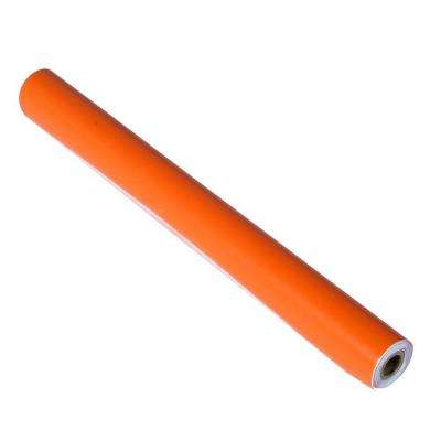 12 in. Pegboard Vinyl Self-Adhesive Tape Roll in Orange