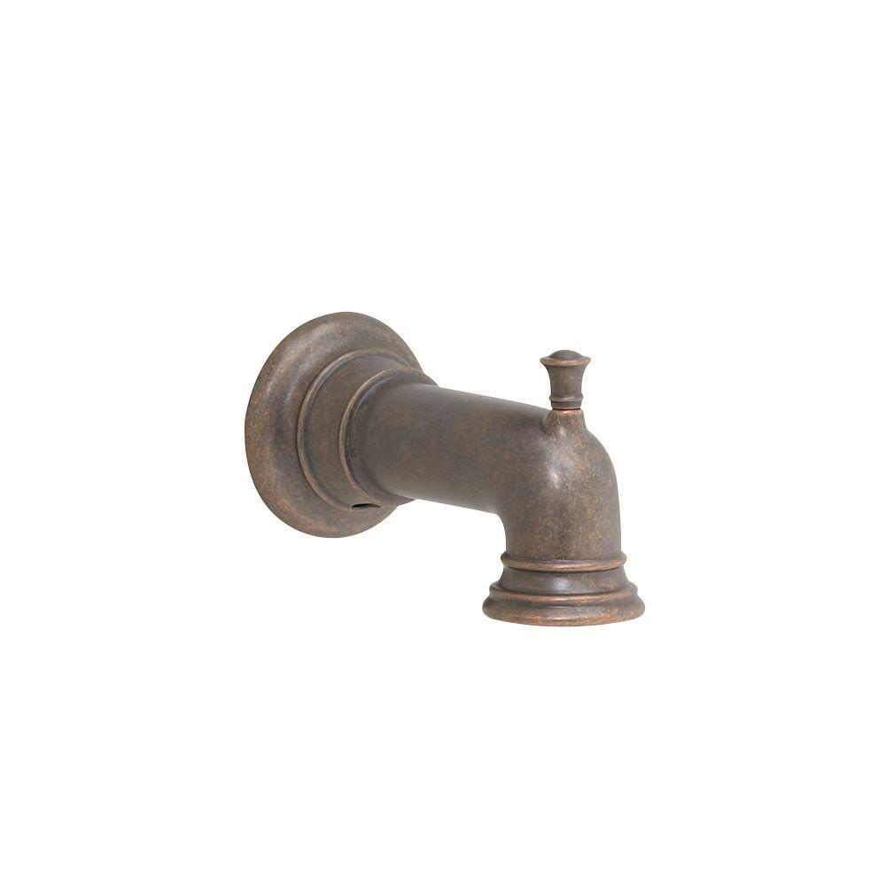Quentin Slip-On Diverter Tub Spout in Oil Rubbed Bronze