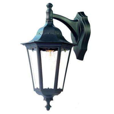Tidewater Collection 1-Light Matte Black Outdoor Wall-Mount Fixture